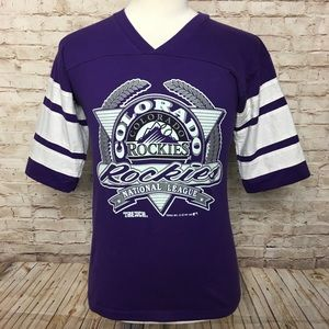 1991 Colorado Rockies MLB T-shirt